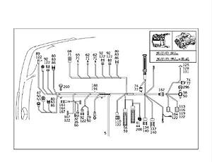 Amazon com genuine mercedes r129 sl500 (93 95) 500sl engine on mercedes r129 wiring diagram 97 Mercedes C230 Ignition Wiring Diagram Mercedes -Benz Relay Diagram