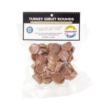 Fresh Is Best Freeze-Dried Raw Turkey Giblet Treats for