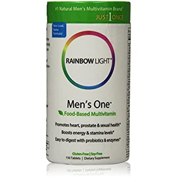 Amazon Com Rainbow Light Men S One Multi Vitamin 150