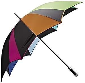 "Abbott colección Octagon Paraguas de golf rayas (51"")"