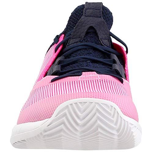 adidas Women's Adizero Defiant Bounce Tennis Shoe, Legend Ink/Shock Pink/White, 5.5 M US by adidas (Image #4)