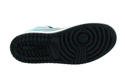 Jordan 705321-027: Air 1 Retro High Little Kids Sneakers Grijs / Blauw / Zwart Grijs