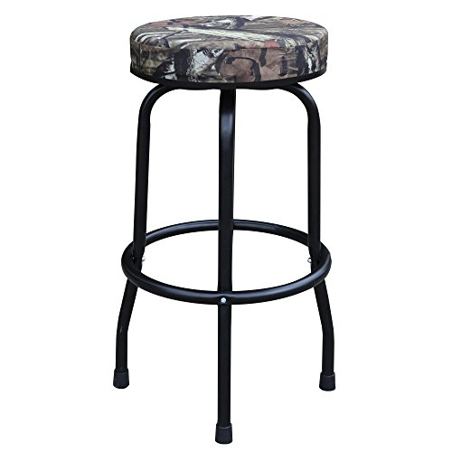 Torin Big Red Swivel Bar Stool/Shop Seat, Mossy Oak (Oak Swivel Stool)