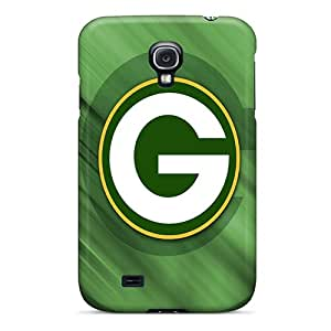 New KyY14982HgUs Green Bay Packers Hd Skin Cases Covers Shatterproof Cases For Galaxy S4