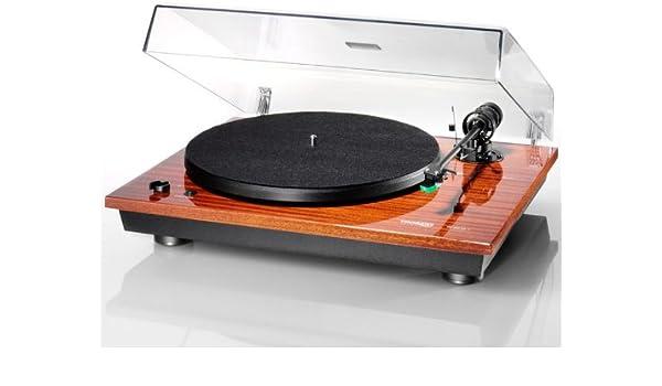 Tocadiscos THORENS TD 295 MK IV, color caoba: Amazon.es: Electrónica