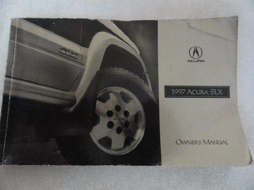 1997 Acura SLX Owner's Manual