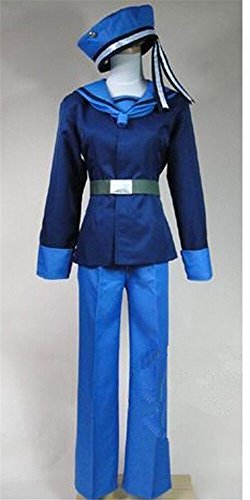 FOCUS-COSTUME APH Axis Powers Hetalia Norway Cosplay (Norway Costume For Women)