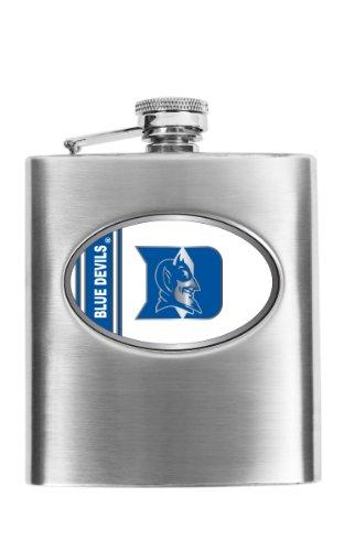Devils Stainless Steel Flask - NCAA Duke Blue Devils Hip Flask