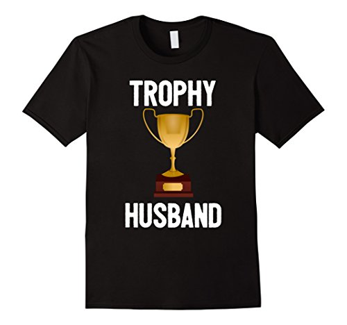 Future Trophy Wife Costume (Mens Men's Trophy Husband Shirt Medium Black)