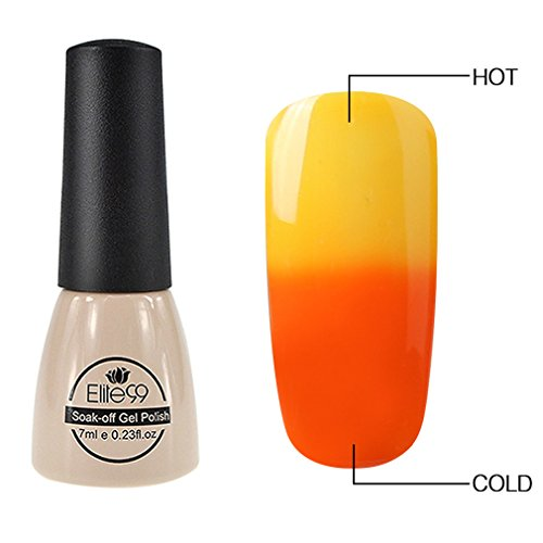 thermal temperature changing gel polish