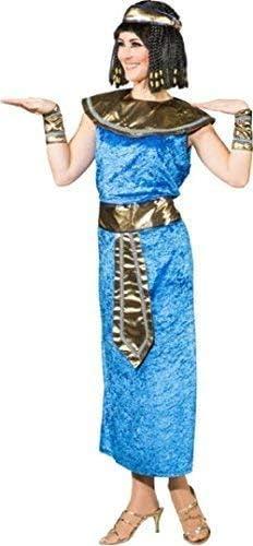 Fancy Me Me Mujeres Azul Cleopatra Egipcio Reina storico Intorno ...