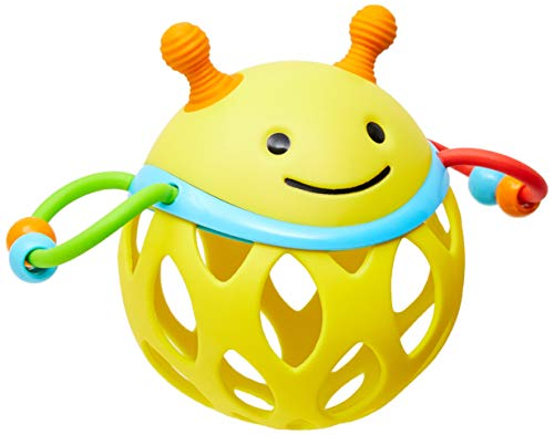 - Skip Hop Explore and More Roll Around Rattle Toy, Bee