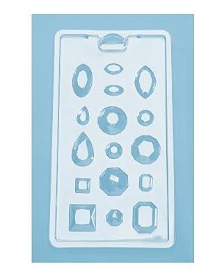 DARICE DT8150 48-Piece Gemstone Shape Candy Making Craft Supplies