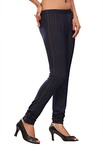 Womens-Jegging-Churidar-Stretchable-Denim-Look-Long-Leggings-India-Clothing