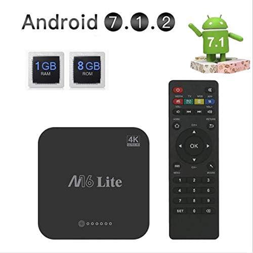 Android TV Box 1GB RAM + 8GB ROM, Android 7.1 TV Box H3 Quad-Core Smart TV Box, Compatible con 2.4Ghz WiFi H.265 HDMI DLNA Dispositivo De Medios: Amazon.es: Electrónica