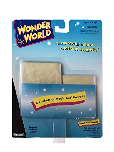 Ocean Wonders Aquarium (Wonder World Aquarium Building Refill Magic Gel Powder - 4 Packets)