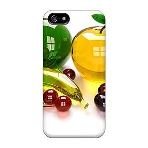BeverlyVargo Shockproof Scratcheproof Everlasting Hard Cases Covers For Iphone 5/5s