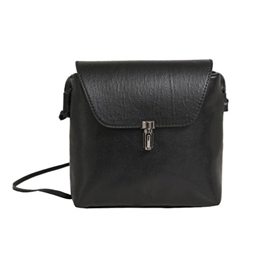 New Girls Women Retro Simple Bag Mini Crossbody Shoulder Bag by VESNIBA