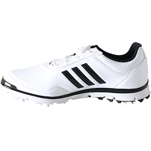 adidas Golf 2018 Ladies Adistar Lite BOA WoLadies Waterproof Golf Shoes - Spiked White/Black 5UK