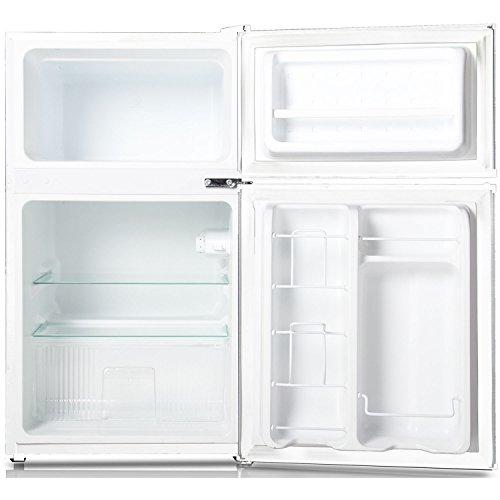 Keystone Kstrc312cw Compact 2 Door Refrigerator Freezer 3