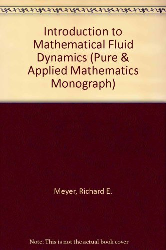 (Introduction to mathematical fluid dynamics (Pure and applied mathematics))