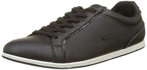 Lacoste Rey Lace, Sneaker Donna Nero (Blk)