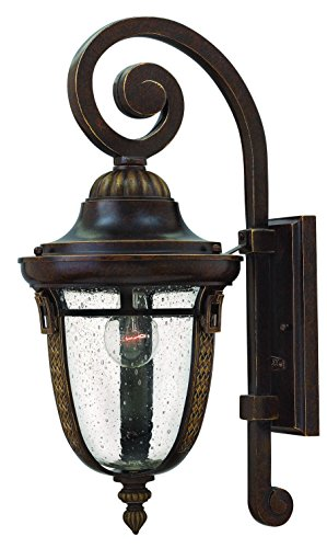 Hinkley 2904RB Traditional One Light Wall Mount from Key West collection in Bronze/Darkfinish,