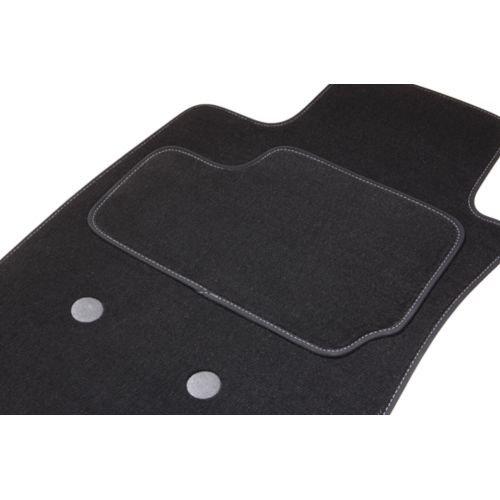 Alfombra A741, 2Avants gris/blanco, del 01.05AU CE día sobre medida. Piel sintética alfombra Gold