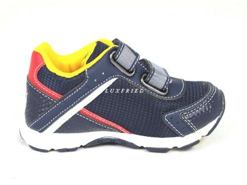 Naturino 9102 - Derby de material sintético niño azul - azul