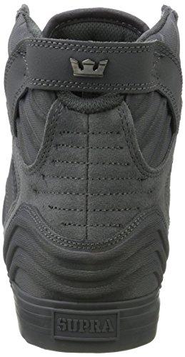 Supra 08030 - Zapatillas Altas Hombre Gris (Grey-Grey)