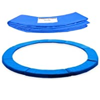 ULTRAPOWER SPORTS Federabdeckung Randschutz Randabdeckung für Trampolin 244cm - 305cm - 366cm Rahmenpolsterung Pink/Grün/Farbige PVC - UV beständig