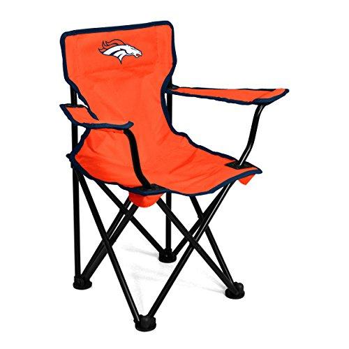 Logo Brands NFL Denver Broncos Toddler Chair, One Size, Carrot