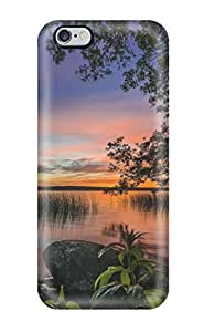 5477902K93803554 Iphone 6 Plus Case Cover - Slim Fit Tpu Protector Shock Absorbent Case (lake)