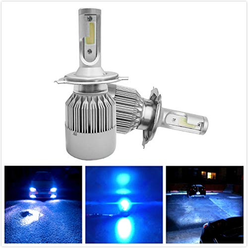 9003 headlight bulb led blue - 3