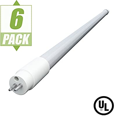 Axis LED 54W Equivalent 4 ft. T5HO 24-Watt Daylight LED Tube Light Bulb (6-Pack)