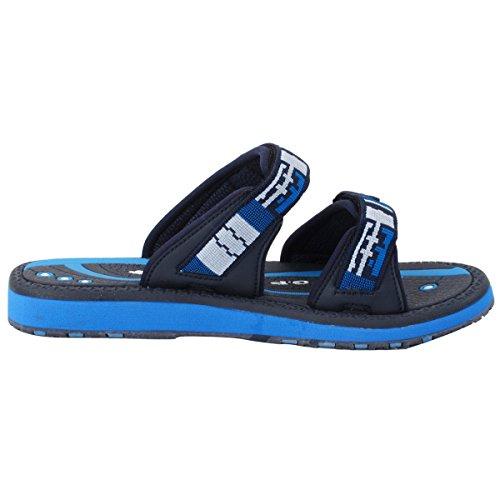 Gold Pigeon Shoes GP6888 Adjustable Durable Outdoor Water Slide Sandal Slippers For Men Women Kids (Size: T10 & up) 8550 Navy lqEY1Cvtk