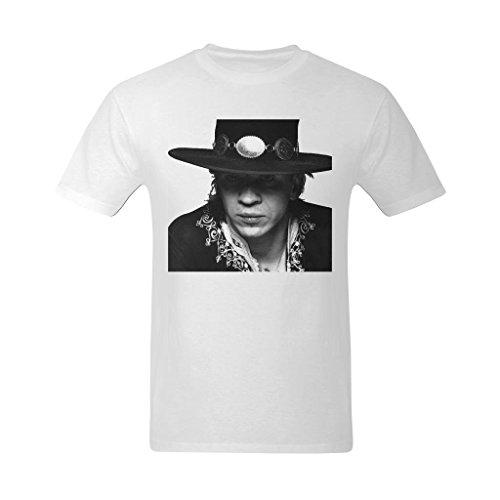 Nehasigo Men's Stevie Ray Vaughan Clipart Design T Shirt]()