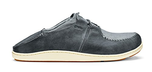 Olukai Honua - Men's Charcoal/Charcoal outlet manchester great sale PD2t7THxvn