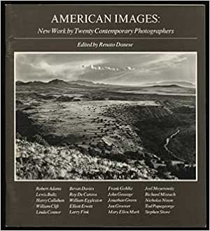 Book American Images: New Work by Twenty Contemporary Photographers