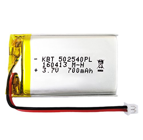 - BrightTea Battery Packs Lithium Ion Polymer Battery 3.7V 700mAh Rechargeable battery Li-ion Li-Po