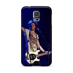 Best Cell-phone Hard Covers For Samsung Galaxy S5 With Customized Vivid Mcfly Band Series TimeaJoyce