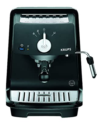 Krups XP 4000 Espresso Machine, Black