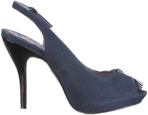 Fiorucci Sandal 40146 - Sandalias de vestir de tela para mujer Azul