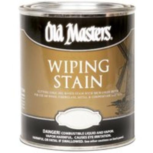 Old Masters 12216 0.5 Pint. Spanish Oak Wiping Stain, 240 Voc - Oak Wiping Stain