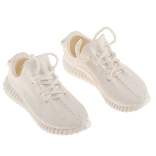 1 Schuhe MagiDeal Weiß 4 Sportschuhe Aktionfigur 7cm 6 Weibliche Schnürschuhe Schwarz Turnschuhe ZwwndA
