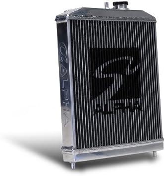 SKUNK2 Alpha Series HALF Radiator for Honda 88-91 Civic//CRX 349-05-1550