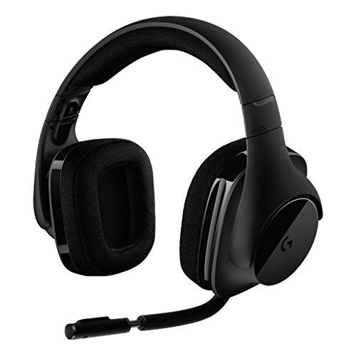 게이밍 헤드셋 PC PS4 로지쿨 G533 wireless DTS® 7.1 서라운드