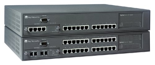 Nortel Networks Baystack 450-12T Enet Switch 12RJ45 10/100 Ports Stackable 1 Mda ()