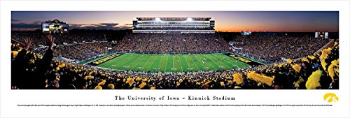 (Iowa Football - 50Yard Line - Blakeway Panoramas Unframed College Sports Posters)