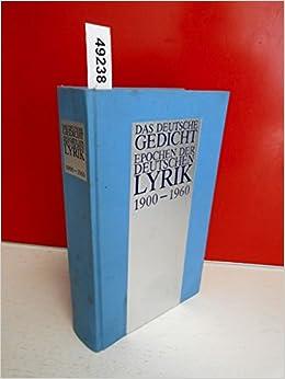 Deutsche gedichte um 1900